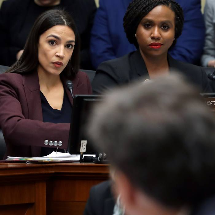 "Questioning Michael Cohen before the House Oversight Committee: @pick2frac2: ""She is Daenerys Targaryen breathing fire."" February 27 2019"