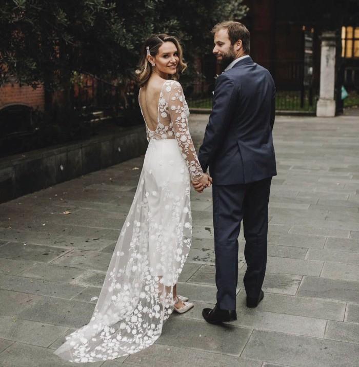 Wedding of Lauren Dupuy and her husband Benjamin