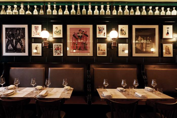 Formerly home to the Gay Hussar, Noble Rot offers a menu that pays homage to the Soho institution's Hungarian heritage