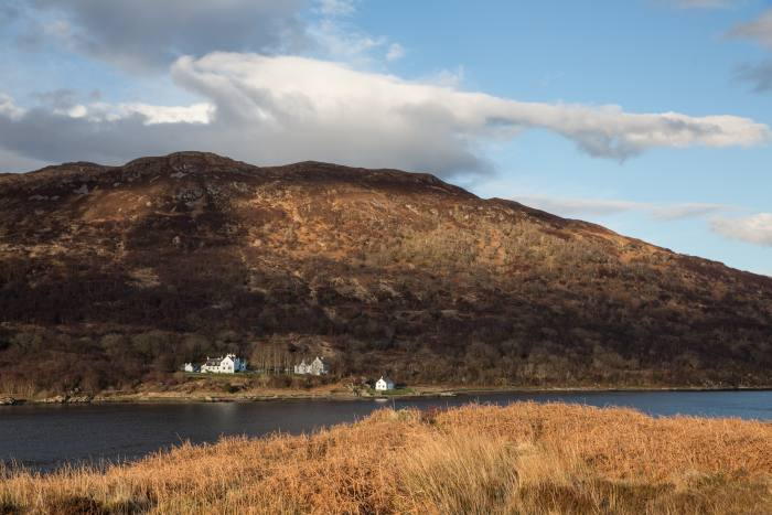 Kinloch Lodge on the shores of Loch na Dal