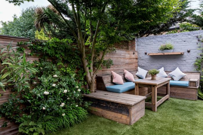 The garden, a continuation of the home, when weather permits