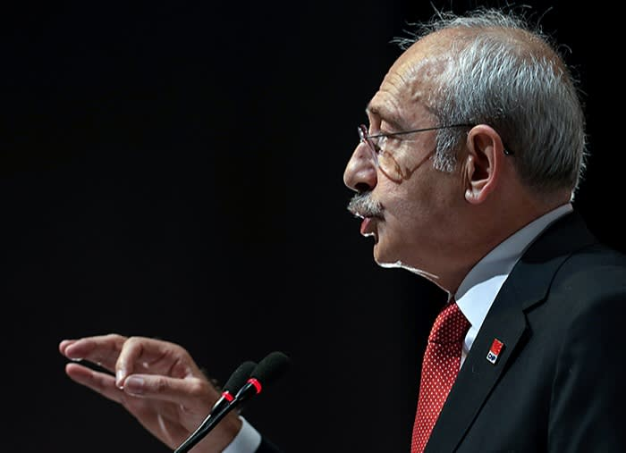 Kemal Kilicdaroglu, leader of Turkey's largest opposition party, earlier this year