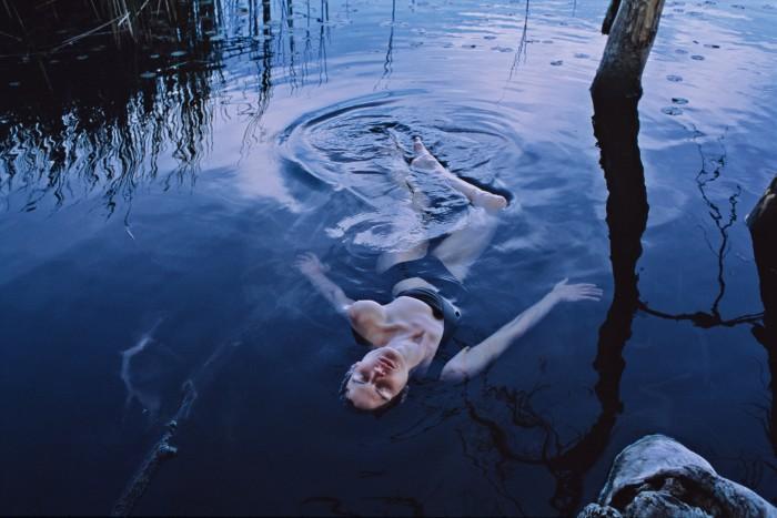 Photographer Vincent van de Wijngaard shot with his wife, model Saskia de Brauw, at their home in upstate New York
