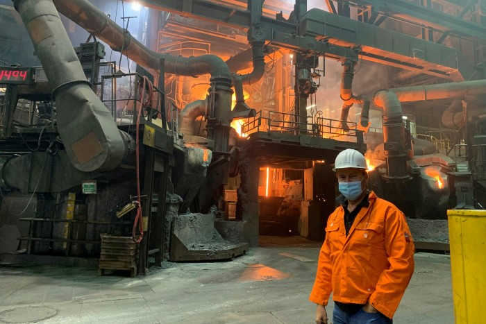 Fondium is one of the biggest foundries in Europe. Its co-founder says some of the Greens' 'ideas are pretty good — but I still see a socialistic footprint'