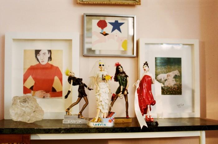 Garnett's Miss Lanvin dolls by Alber Elbaz