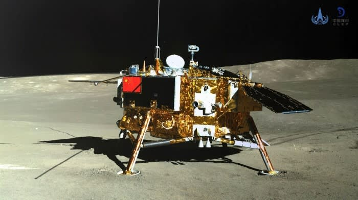 China was the first country to reach the far side of the Moon with its Chang'e-4 lunar probe, in 2019 © CNSA via AFP/Getty Images