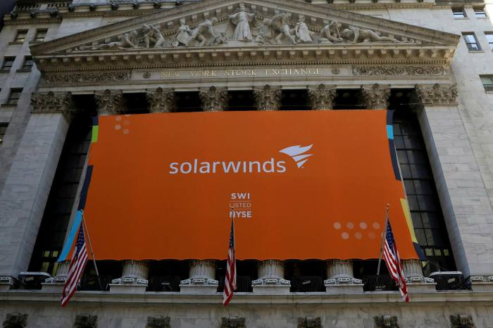 SolarWinds, which listed on the NYSE in 2018, provided software to 18,000 business and government customers for their networks