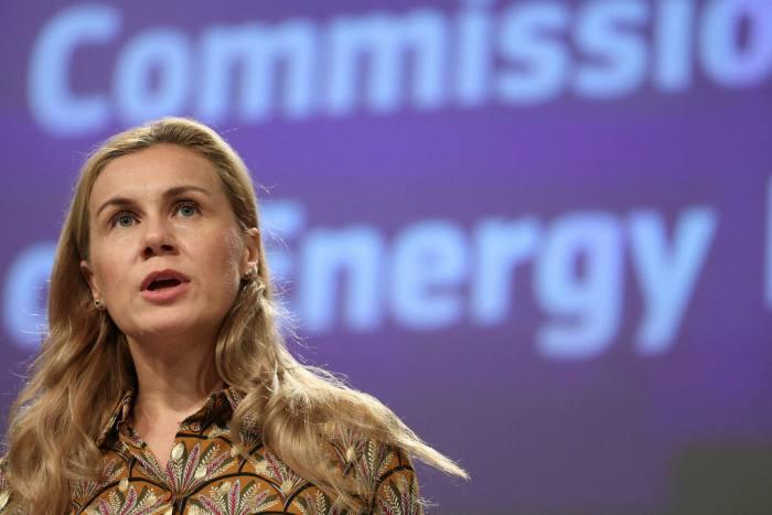 EU energy commissioner Kadri Simson