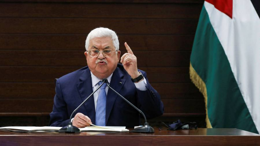 Palestine's Mahmoud Abbas pushes back against elections