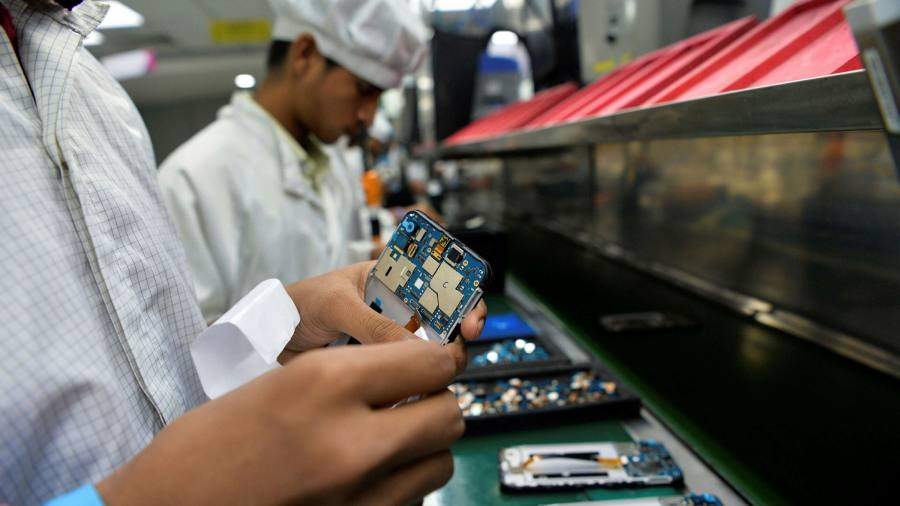 Manufacturers pile into India to diversify supply chains from China