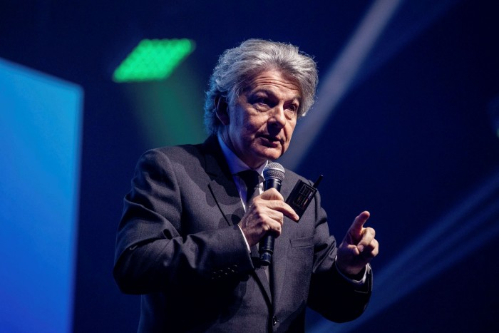 Thierry Breton, EU internal market commissioner and a former telecoms executive, has sought to position himself at the forefront of the effort