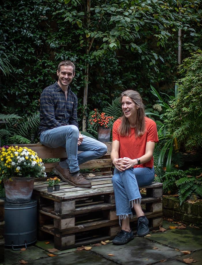 Tom King and Miranda Essex of PlantEra