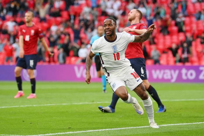 Footballer Raheem Sterling, 26, estimated to be worth £ 38million