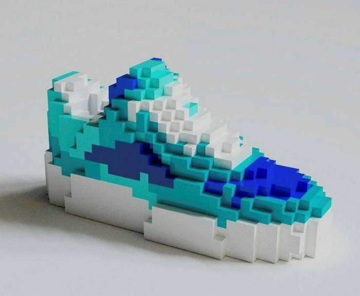 A digital sneaker sold by RTFKT