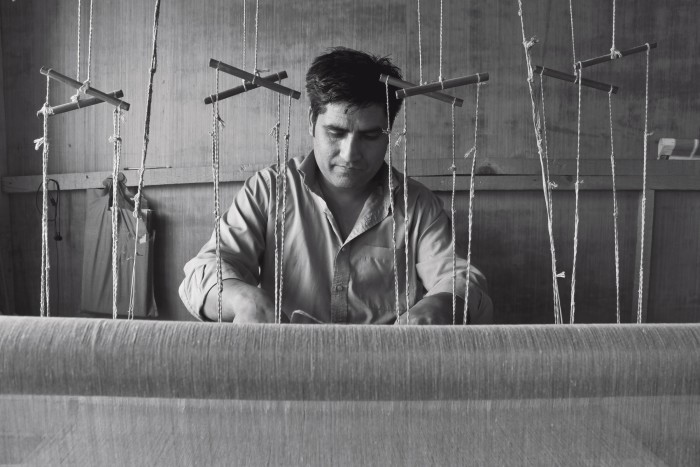 Kashmir Loom hasateam of120 weavers who will also teach the skill to the next generation
