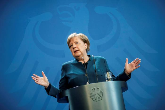 German chancellor Angela Merkel has said the US should take a lesson from her country and pass stricter laws against hate speech