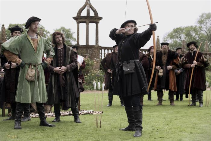 Rylance (right) in the BBC's 'Wolf Hall' (2015)
