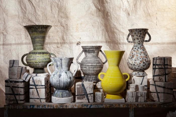 1882 Ltd x Martyn Thompson earthenware Penny vases, £3,950 each, willer.co.uk