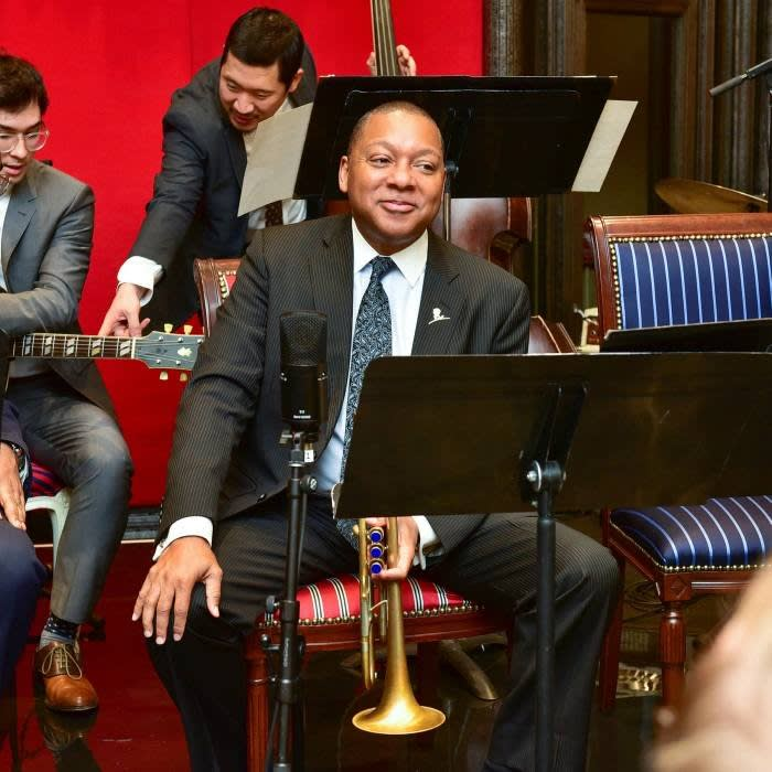 Wynton Marsalis, the veteran trumpeter and composer