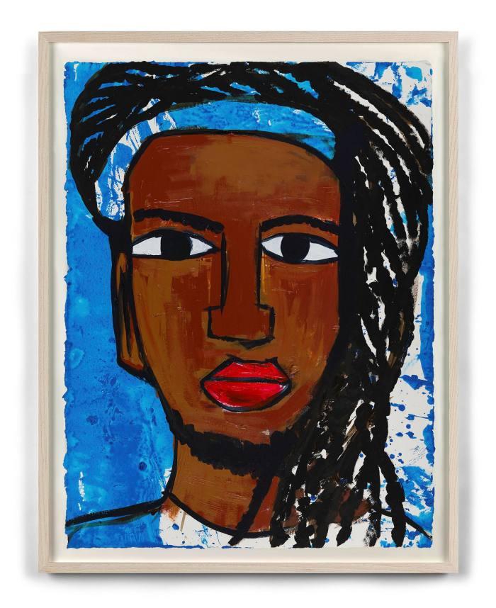 Leilah Babirye's 'Kuchu Ndagamuntu (Queer Identity Card)' (2021)