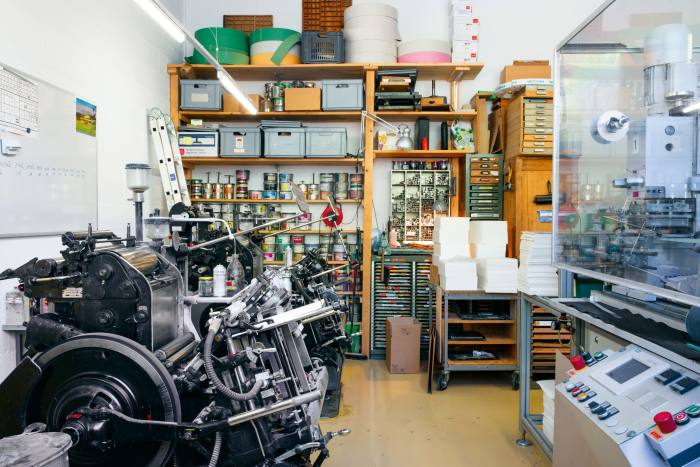 Thami Press, Société Helvétique d'Impression Typographique