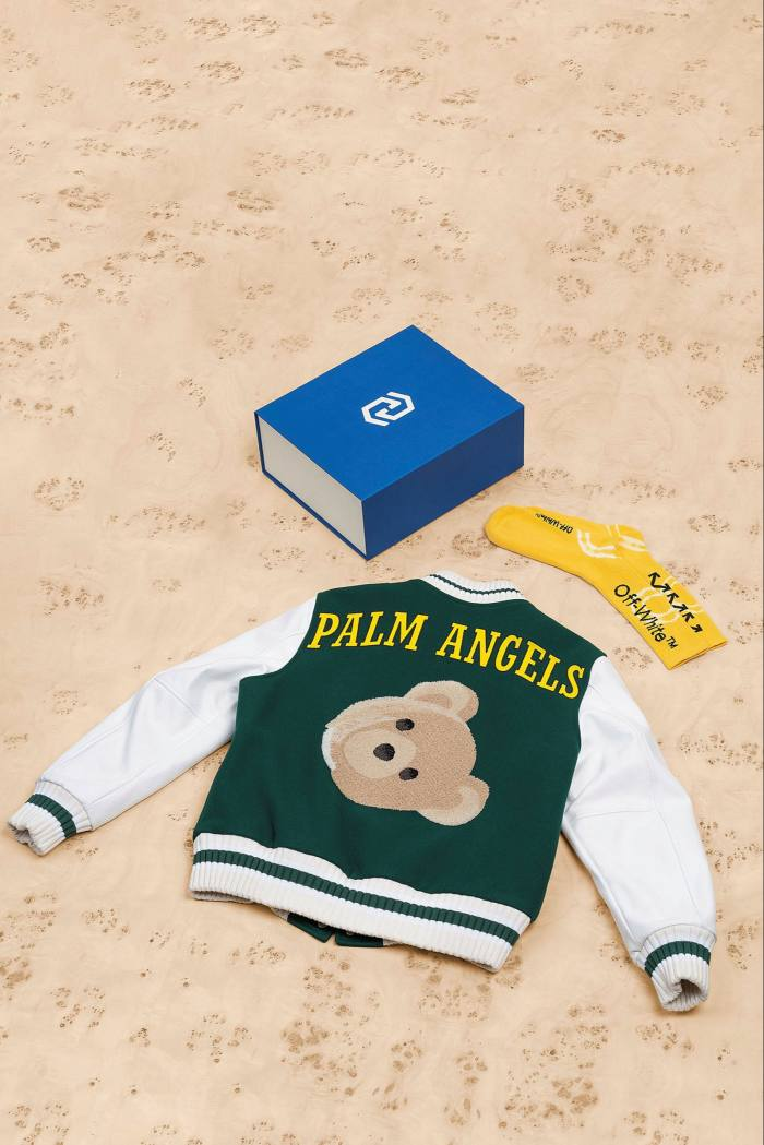Streetwear items, such as this Palm Angels jacket brought to you by Heat, are popular among mystery box shoppers motivated by the hype