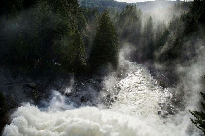 A hydro dam. From next year, funds will have to report on issues such as carbon footprint