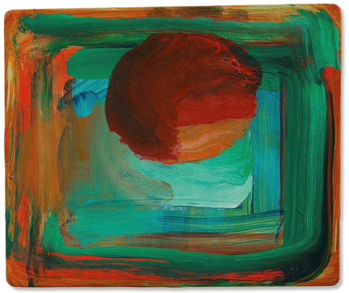 'Venice Sunset' (1989) by Howard Hodgkin, whose work is on show on the Frieze Viewing Room and in 'Memories' at Hazlitt Holland-Hibbert