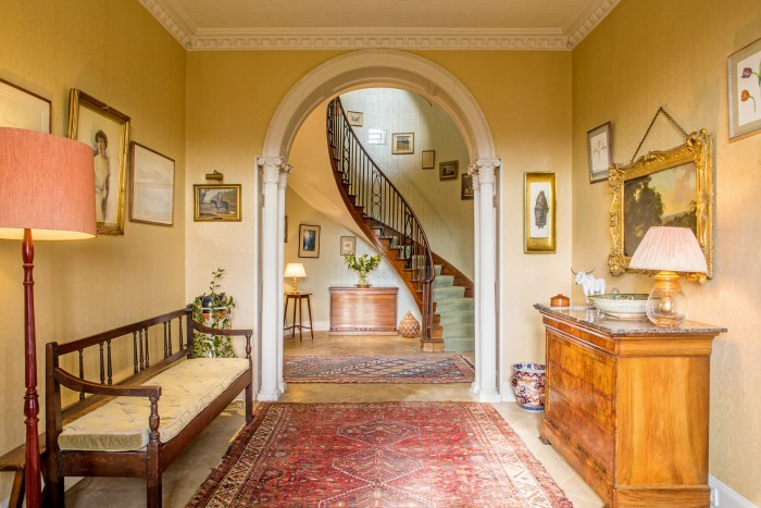 A Grade II-listed Georgian house in Gloucestershire with 7.5acres of land, on sale through Savills for £2.2m