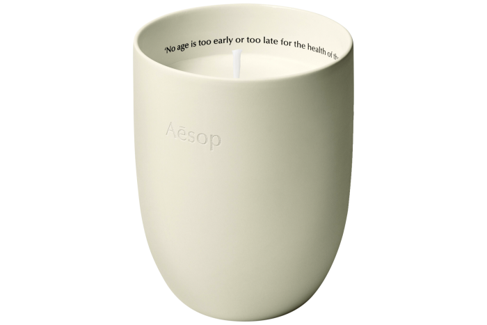 Aesop Ptolemy candle, £80