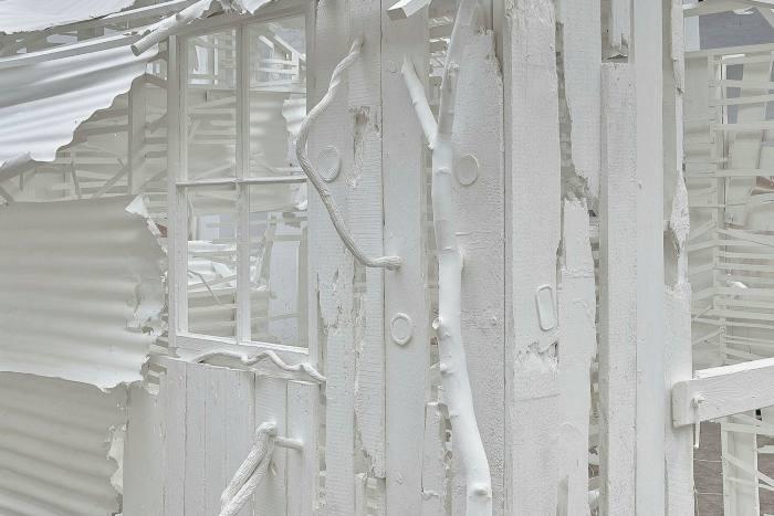 Detail of Rachel Whiteread's