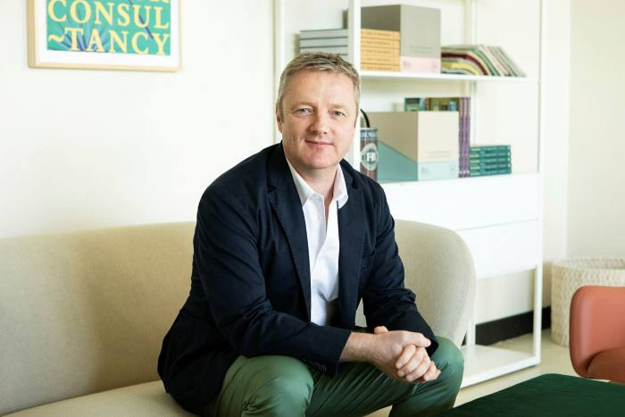 Anthony Davey, chief executive of Farrow & Ball, the company credited with inventing the UK's premium paint sector: 'Our UK business is growing by in excess of 40 per cent in the year to date'