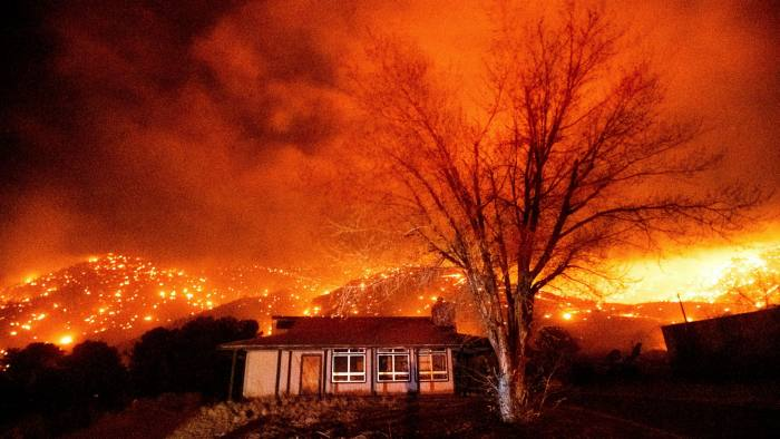 California wildfires: 'time, value, money and speed is everything for the people who have lost everything', says lawyer Robert Julian