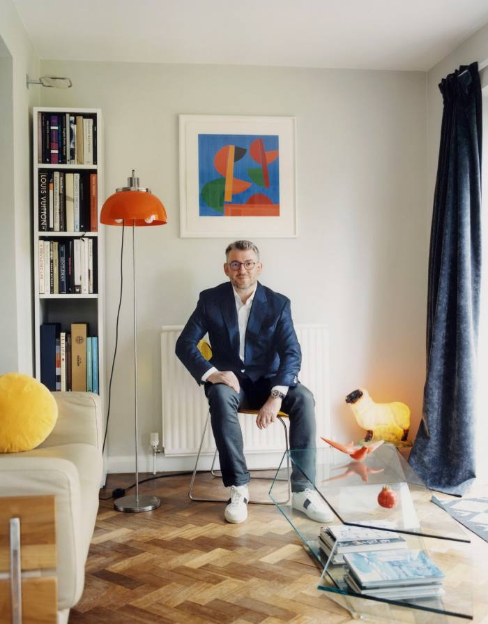 John Harrison at home in Surrey