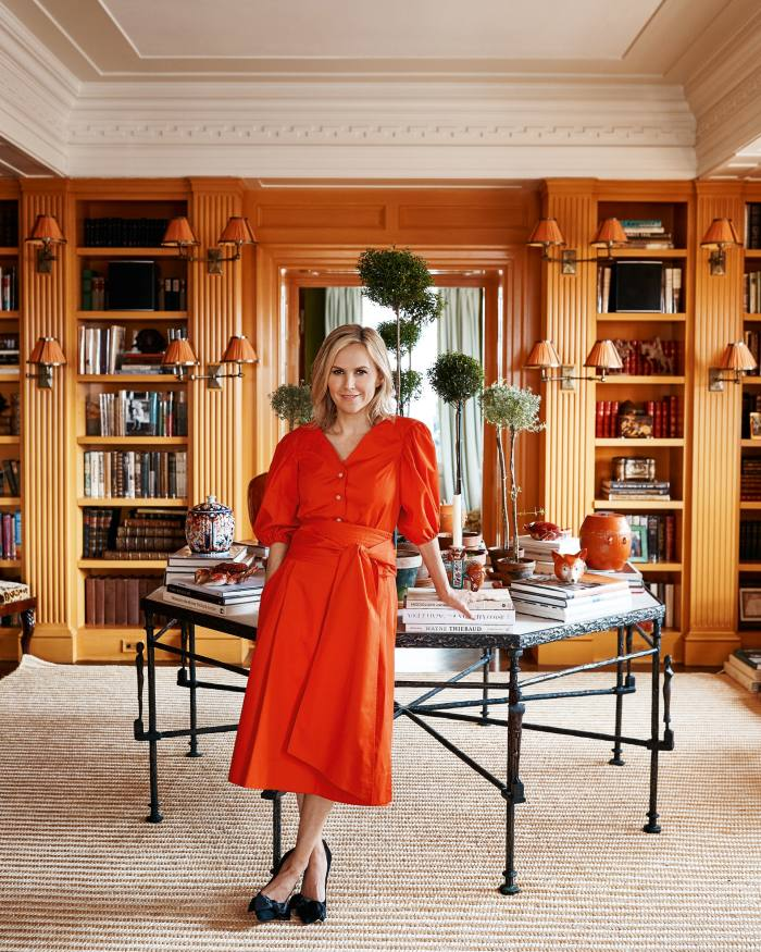 Fashion designer Tory Burchat home in New York