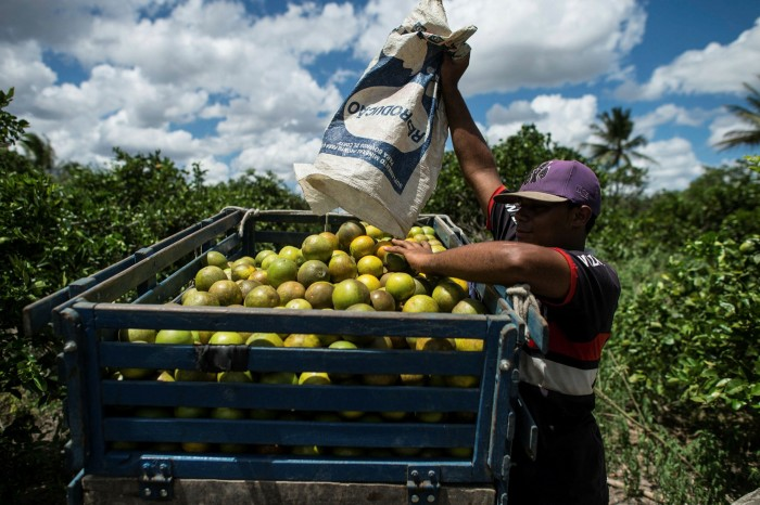 The South American nation is now one of the world's top producers of foodstuffs