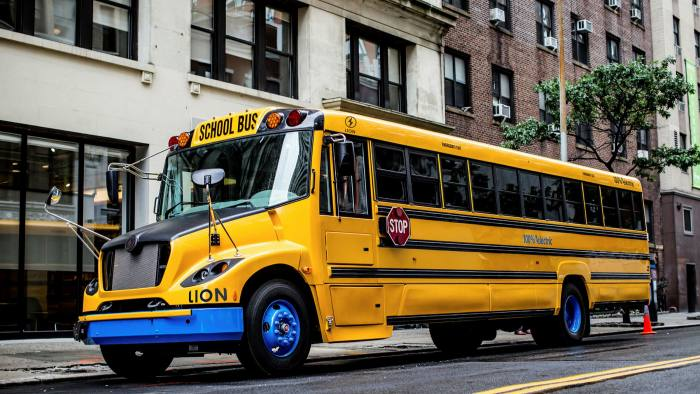 On time: 300 Lion Electric school buses are in operation