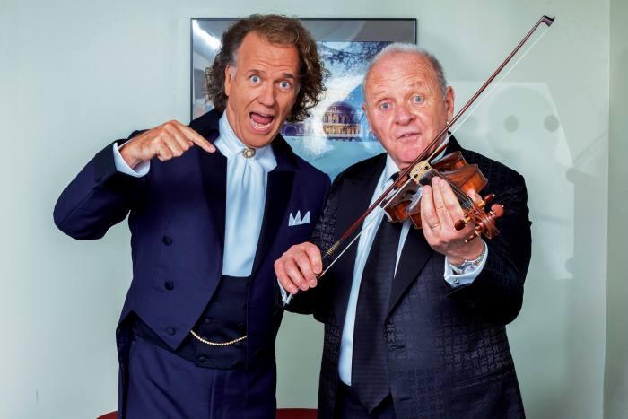 With André Rieu at theRoyal Albert Hall