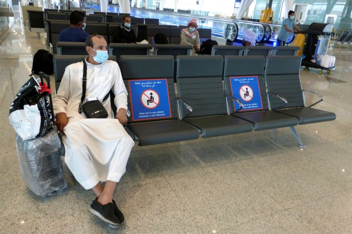 Riyadh at one point suspended travel to the UAE and other Gulf states, citing coronavirus concerns