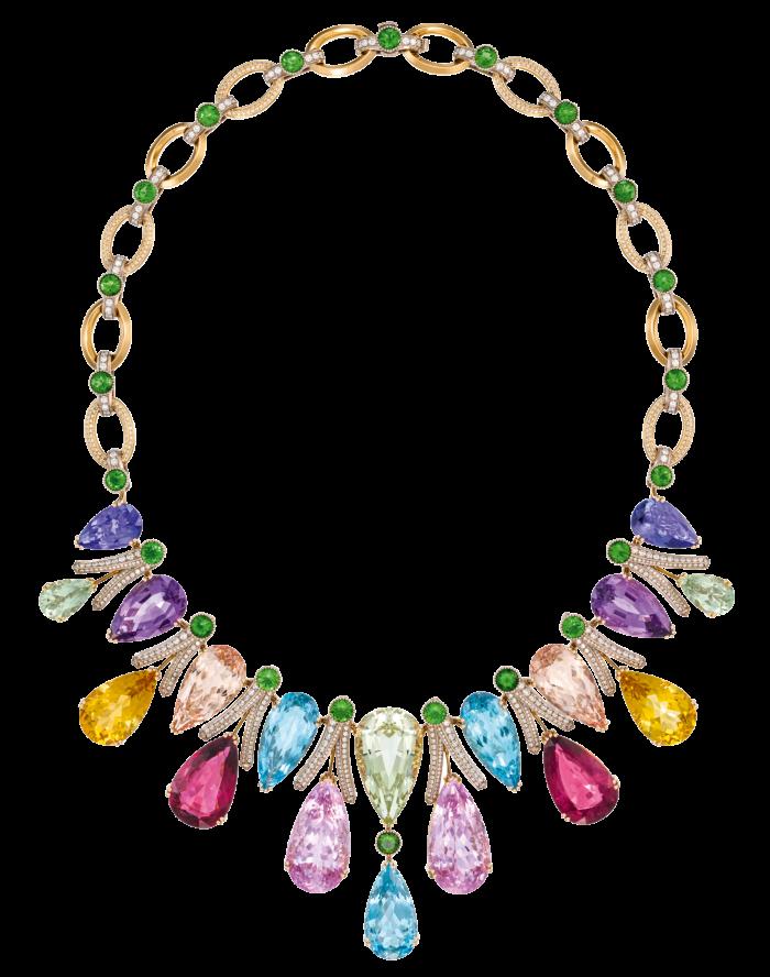 Dolce & Gabbana Alta Gioielleria: multicolour gemstone and diamond necklace, POA