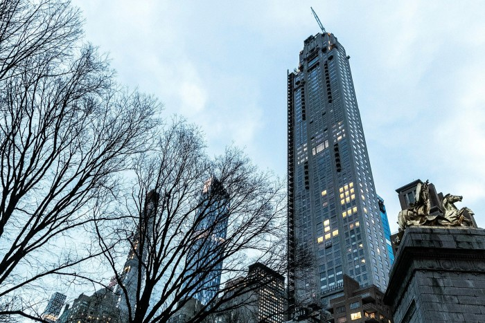The 220 Central Park South building New York