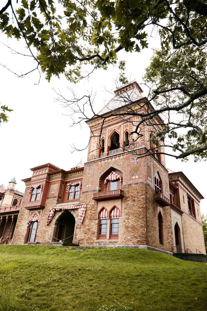 Olana House, the former home of Hudson River School painter Frederic Edwin Church