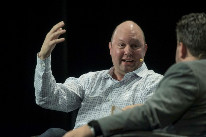 Marc Andreessen, the Netscape co-founder and Carta board member. Platforms like CartaX may struggle to meet their targets if private companies remain selective about who owns their shares