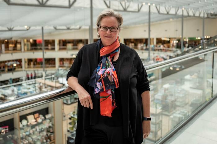 Jill Dewar, store manager of John Lewis's Kingston branch