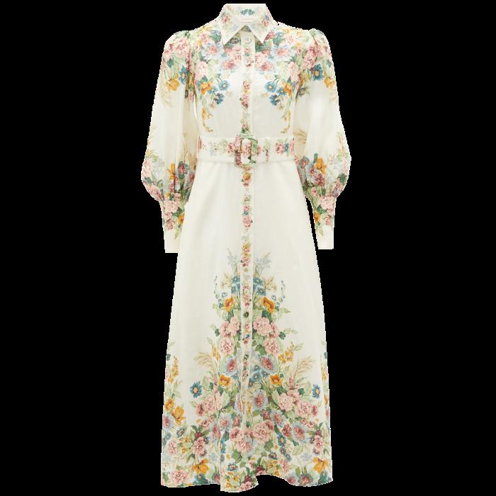 Zimmermann dress, £895, from matchesfashion.com