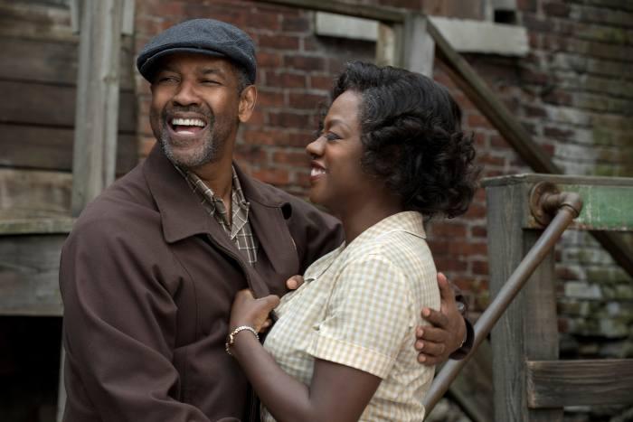 Denzel Washington and Viola Davis in 'Fences'