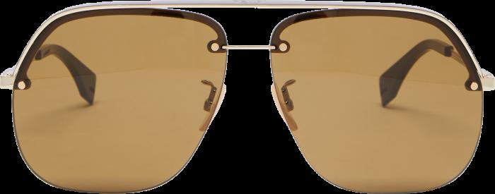 Fendi Aviator sunglasses, £240, matchesfashion.com