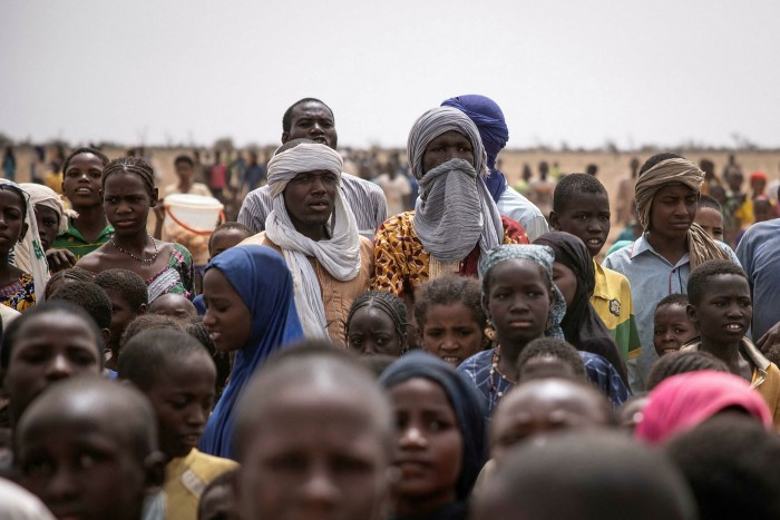 The Goudebou refugee camp, in northern Burkina Faso, shelters thousands of Malians who have fled jihadi violence in the region