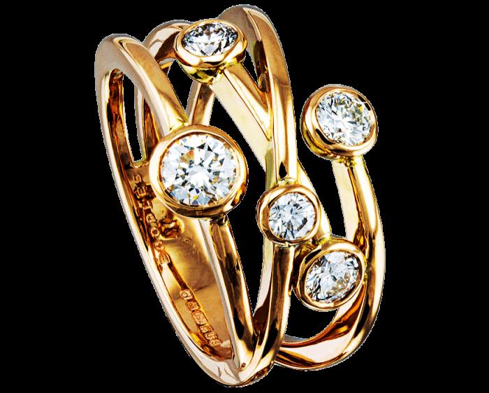 Boodles Raindance ring, £8,700, boodles.com/jewellery/rings