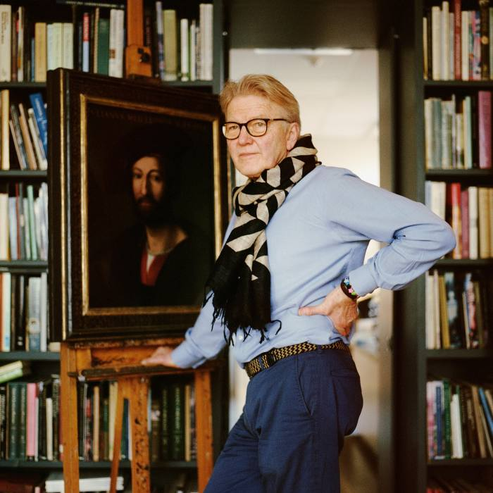 Art restorer Simon Gillespie